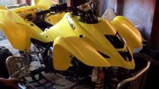 8. How to drain and change the antifreeze in Suzuki Ltz 400