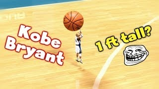1 Foot Tall Kobe Bryant & His Journey To The NBA Draft!