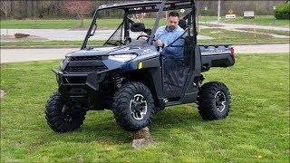 8. 2019 Polaris Ranger XP 1000 in depth look and test drive!