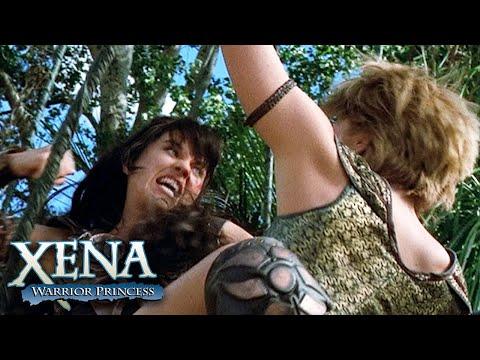 Xena and Najara Vine Fight | Xena: Warrior Princess
