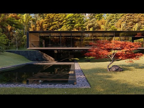 LUMION 8 Pro Modern Japanese Minimalist House