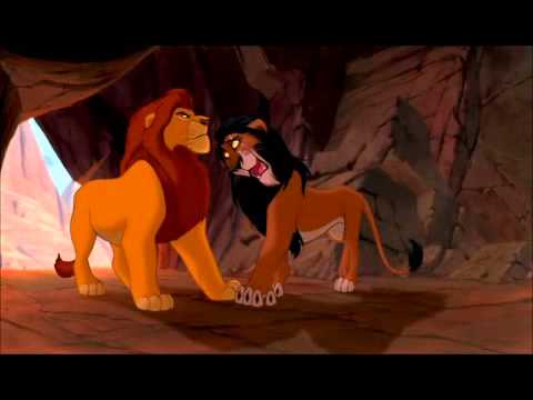 The Lion King - Scar and Mufasa