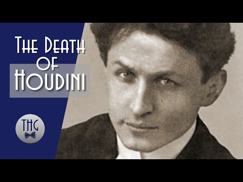 The Mysterious Death of Harry Houdini