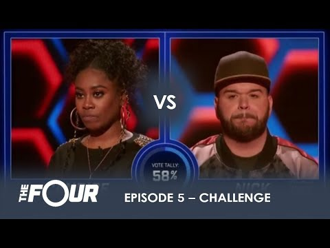 Candice vs Nick: He ASKS For a FIGHT And He GETS ONE! | S1E5 | The Four