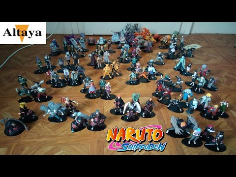 Figurine Naruto Shippuden Altaya n°1 à 100 Collection Complete !!!!!