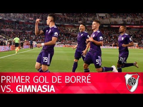 Primer gol de Rafael Borré vs. Gimnasia