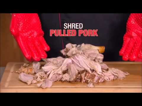 Hot Hands Gloves - As Seen On TV Silicone Cooking Gloves