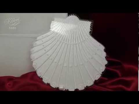 Как сделать ракушку из бумаги объемную