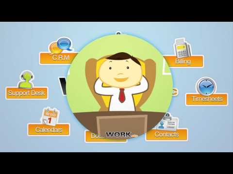 Video of WORKetc CRM + Projects + More