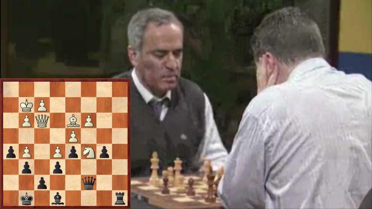 Kasparov Vs Short – Blitz Chess Game 7
