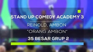 Video Stand Up Comedy Academy 3 : Reinold, Ambon - Orang Ambon MP3, 3GP, MP4, WEBM, AVI, FLV November 2017