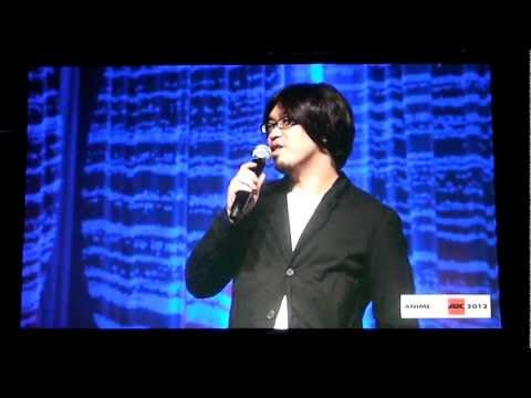 Hikaru Kondo producer of TV Series Fate/Zero at Anime Expo Opening Ceremony (видео)