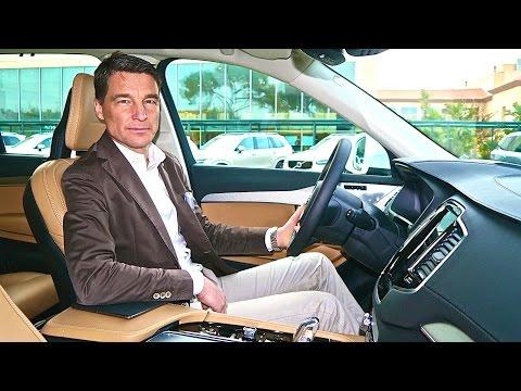 Volvo xc90 inside снимок