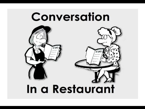 In a Restaurant | Short Conversations | Ordering and Taking Orders | Easy English Practice | ESL