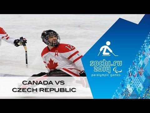 Canada v Czech Republic full game | Ice sledge hockey | Sochi 2014 Paralympic Winter Games