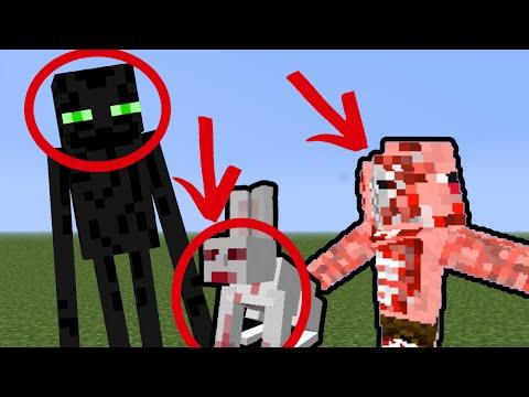 10 МОБОВ В МАЙНКРАФТ КОТОРЫХ ИЗМЕНИЛИ! [Minecraft] (видео)