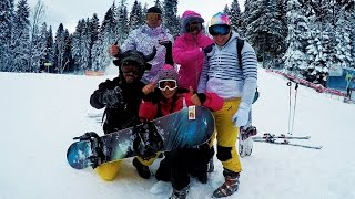 Borovets Bulgaria  city images : GoPro HERO4 Snowboarding in Borovets Bulgaria 2015
