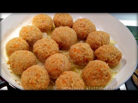 bimby - polpette di pollo e carote
