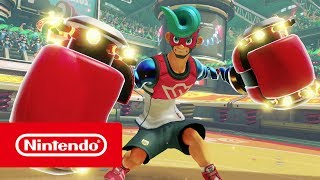 Spring Man ARMS (Nintendo Switch)