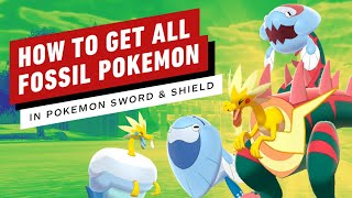 How to Get Every Fossil Pokemon in Sword and Shield (Dracovish, Arctovish, Dracozolt, Arctozolt) by IGN
