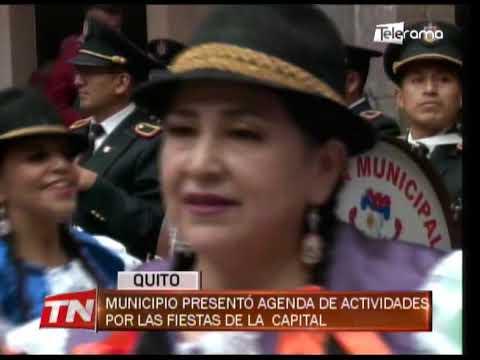 Municipio presentó agenda de actividades por las fiestas de la capital