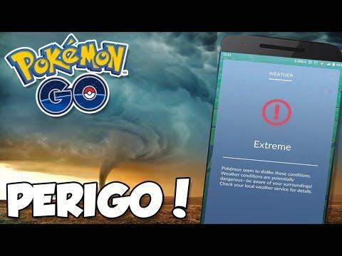 CLIMA EXTREMO, FERRAMENTA QUE CRIA POKESTOPS? - Pokémon Go