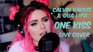 Video Calvin Harris, Dua Lipa - One Kiss (Live cover) MP3, 3GP, MP4, WEBM, AVI, FLV April 2018