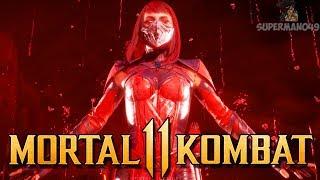 THE CLUTCH COMEBACK WITH SKARLET! - Mortal Kombat 11 Online Beta: