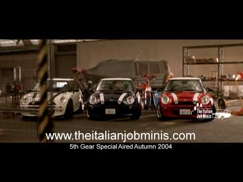 5th Gear - The Italian Job Special Part 1, 2, 3 & 4 In One Video