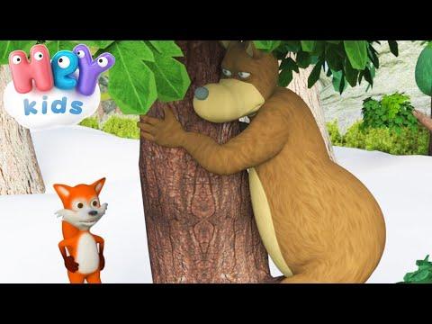 Песня про медведя - Почему медведь зимой спит - Детские Песни - DomaVideo.Ru