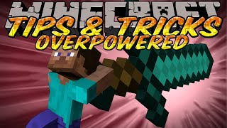 Minecraft Tips and Tricks - Overpowered Weapons - NBT Edit&TMI Custom Enchantments