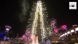 Official Burj Khalifa, Downtown Dubai 2014 New Year's Eve Highlights Video