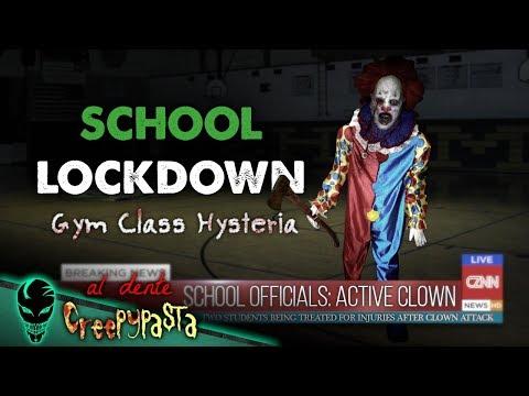 Creepy Clown School Lockdown: Gym Class Hysteria | Al Dente Creepypasta 14