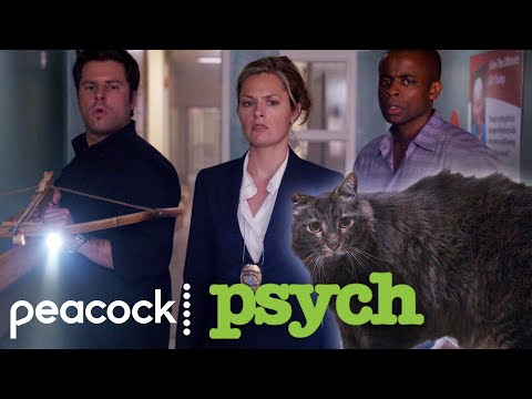 A Vampire Hunting in the Blood Bank  | Psych