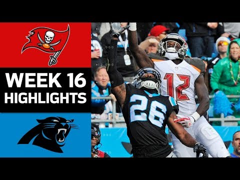 Video: Buccaneers vs. Panthers | NFL Week 16 Game Highlights