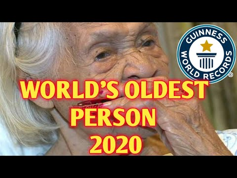 #GUINNESSWORLDOFRECORDS WORLD'S OLDEST PERSON 2020 (FRANCISCA M. SUSANO) | TEACHER ARCI_14