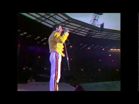 Queen - Another One Bites The Dust (Live At Wembley 11.07.1986)