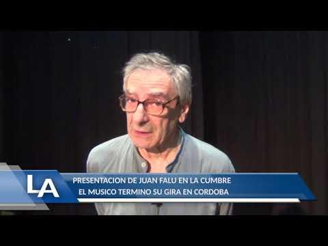EN LA CUMBRE FINALIZO SU GIRA: JUAN FALU EN LA CUMBRE, ACTUACION Y NOTA (MIRA EL VIDEO)