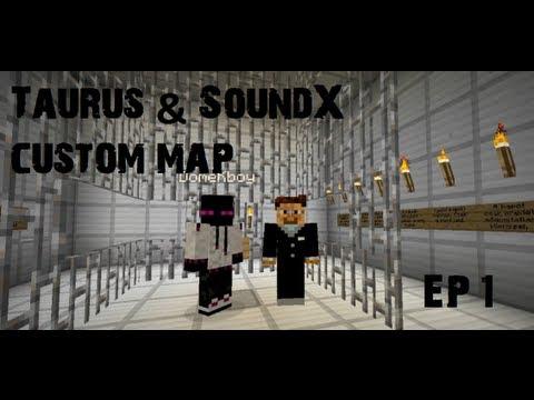 Minecraft: Taurusz és SoundX féle custom map végigjátszás #1