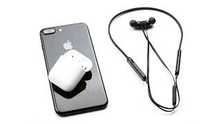 Beats X vs. Apple AirPods - что выбрать?