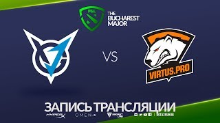 VGJ.Thunder vs Virtus.pro, Bucharest Major, game 1 [Maelstorm, Jam]