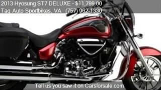 10. 2013 Hyosung ST7 DELUXE  for sale in Virginia Beach, VA 2346