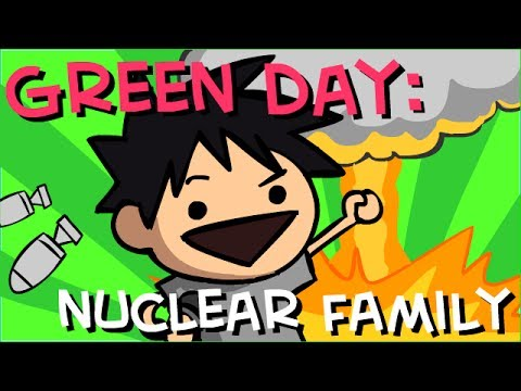 Nuclear Family Green Day Animated Music Video