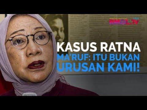Kasus Ratna, Ma'ruf: Bukan Urusan Kami!
