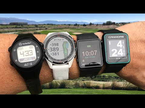 Golf Watch Comparison - Garmin S62 vs Shot Scope V3 & TecTecTec ULT-G vs Canmore