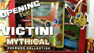 Opening a Pokemon TCG Victini Mythical Pokemon Collection Box- MANY SPARKLES by Flammable Lizard