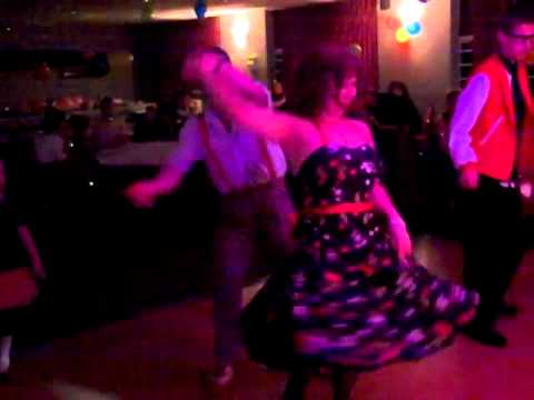 My 50's Rock n Roll dance lesson :)