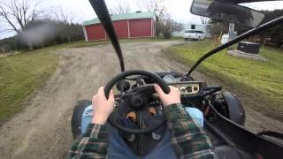 I got a cool dune buggy for Christmas and recorded it with my GoPro Hero.
