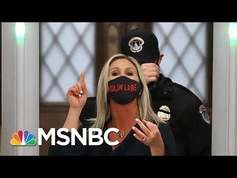 Chris Hayes On The Implied Threat When Republicans Use Guns As Props | All In | MSNBC