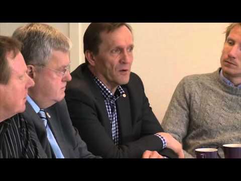 Ministerbesök i Kaunisvaara 24 april 2012
